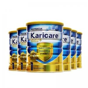 【新西兰直邮包邮】Karicare 可瑞康金装 1段 6罐/箱 保质期至2020年4月