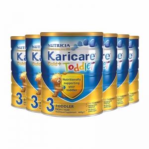 【新西兰直邮包邮】Karicare 可瑞康金装 3段 6罐/箱 保质期至2020年8月