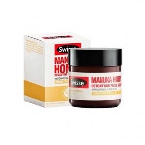 【澳洲直邮】Swisse 麦卢卡蜂蜜排毒面膜 70g