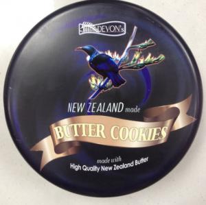 【澳洲直邮-最划算】Lowrey Devon's 新西兰高级定制牛油曲奇饼干480g-原味 exp:04/04/2019