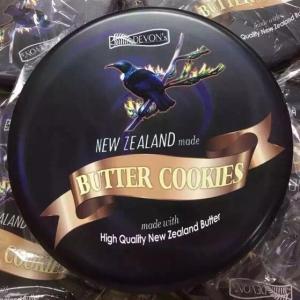 【澳洲直邮-最划算】Lowrey Devon's 新西兰高级定制牛油曲奇饼干480g-咖啡味 exp:04/04/2019