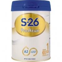 【新西兰直邮包邮】S26 惠氏 Pro-A2 婴儿奶粉 1段 6罐/箱 保质期至20.09