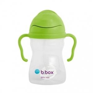 B.box 儿童/宝宝吸管杯 重力防漏婴幼儿学饮杯240ml- 苹果青(升级版)