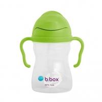 B.box 儿童/宝宝吸管杯 重力防漏婴幼儿学饮杯240ml- 凤梨绿(升级版)
