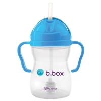 B.box 儿童/宝宝吸管杯 重力防漏婴幼儿学饮杯240ml- 深蓝色(升级版)