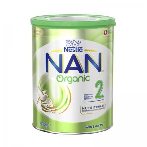 【澳洲直邮包邮】Nestle NAN 雀巢能恩 有机2段*1罐  参考日期20年5月