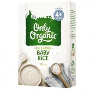 【超市采购】Only Organic 宝宝有机补铁米粉 200g