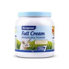 【国内现货包邮】Maxigenes 美可卓 蓝胖子 全脂奶粉 1kg *1罐 保质期至21.1