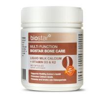 Biostar 葆星 多功效骨骼养护 液体乳钙+维生素D3K2 180粒 保质期至21.10