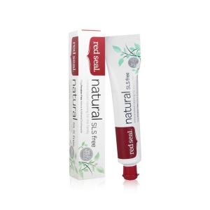 Red Seal 红印 天然矿物质牙膏(不含起泡剂) 100g 保质期至21.07