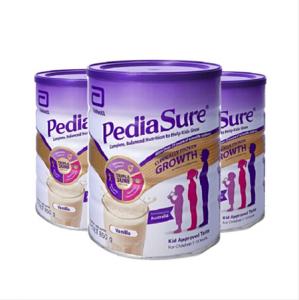 【新西兰直邮包邮】PediaSure 雅培 小安素 850g-香草味*3罐 保质期至21.01