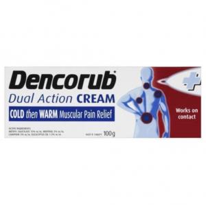 【澳洲直邮】Dencorub 冷热舒缓消炎止痛膏 100g