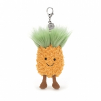 Jellycat 笑脸菠萝挂件 10cm A4PBC