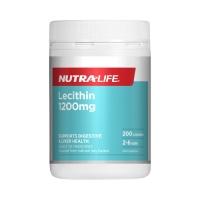 Nutralife 纽乐 卵磷脂 200粒-新包装 保质期至23.03