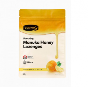 Comvita 康维他 蜂胶糖 蜂蜜柠檬味 500g 保质期至22.09
