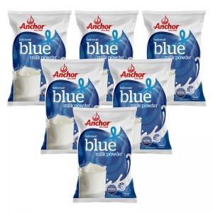 【新西兰直邮包邮】Anchor 安佳袋装 1kg(6袋装)全脂 保质期至2021年7月