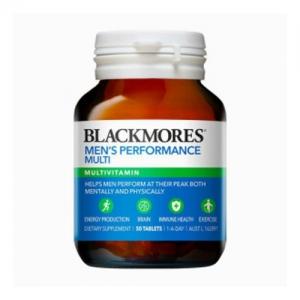 Blackmores 百丽康 男性活力复合维生素 50粒-小瓶装(Men's Performance)
