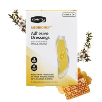 Comvita 康维他 医疗级抗菌蜂蜜创可贴 2.6cm x 5.6cm 8片装 保质期至21.07