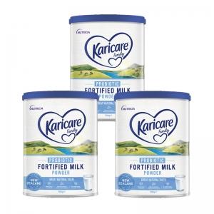 【新西兰直邮包邮】Karicare 可瑞康全脂成人奶粉(3罐) 保质期至2022年3月