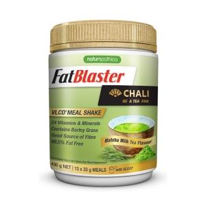 【澳洲仓一件包邮】FatBlaster 极塑 金罐小黄瘦奶昔430g 抹茶味