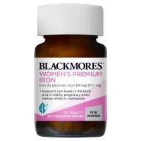 Blackmores 澳佳宝 女性补铁片 30片(Premium Iron) 保质期至22.05