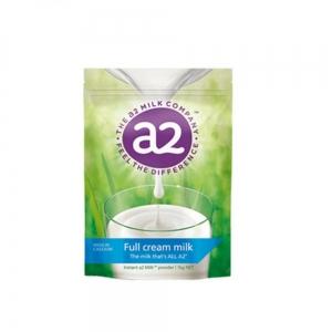 【新西兰直邮包邮】A2 高钙成人奶粉 1kg-全脂 3袋/箱 保质期至2022年09月